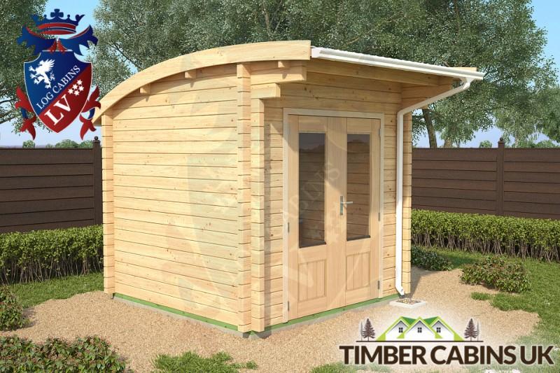 Log Cabin London 2.5m x 2.5m 001