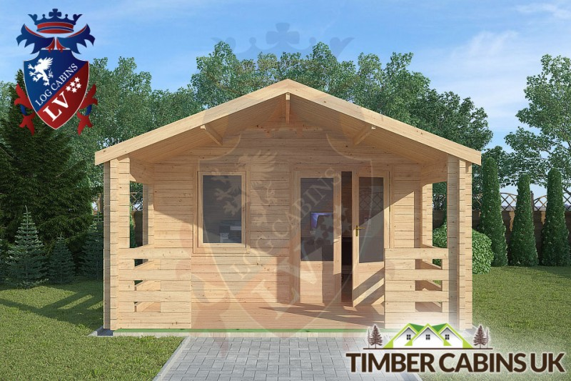 Log Cabin Longridge 4m x 4m 001
