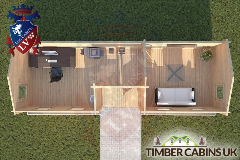 Log Cabin Longton 9m x 3m 001