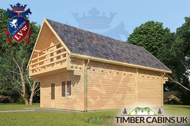 Log Cabin Macclesfield 5.5m x 8.5m 001