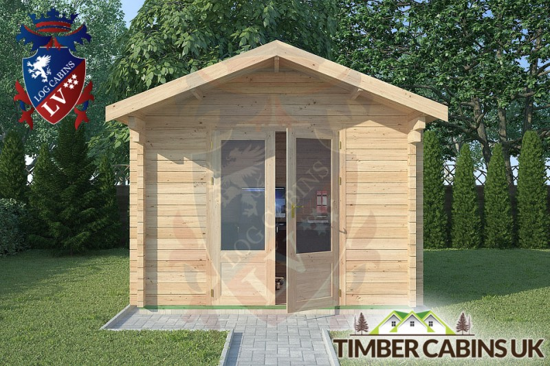 Log Cabin Manchester 3m x 2.5m 001