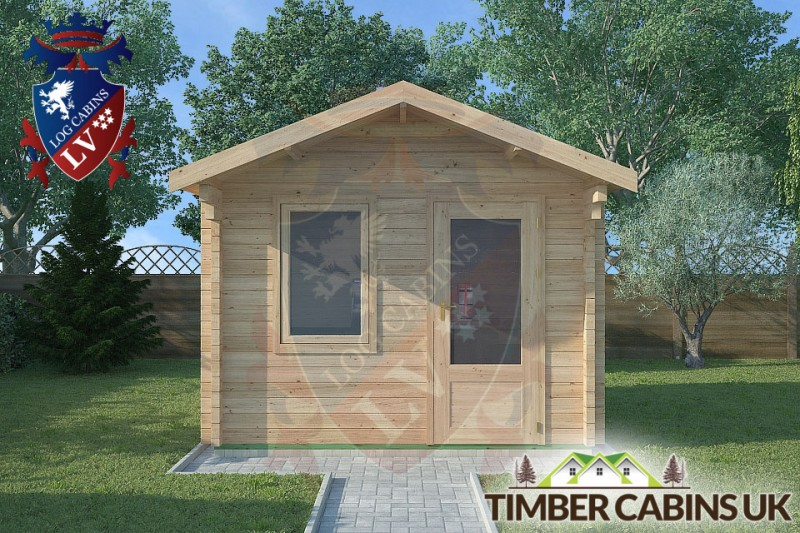 Log Cabin Morecambe 3m x 2.5m 001