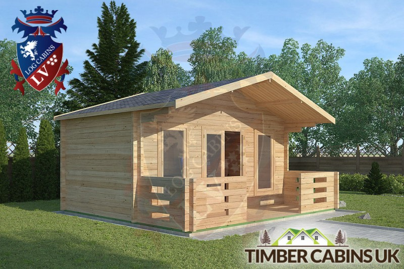Log Cabin Morecambe 5m x 3m 001