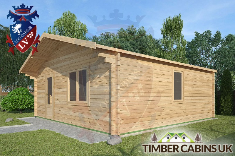 Log Cabin Newburgh 6m x 6m 001