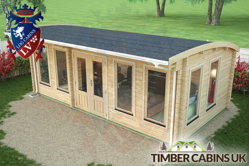 Log Cabin Newcastle-upon-Tyne 6.5m x 3.5m 001