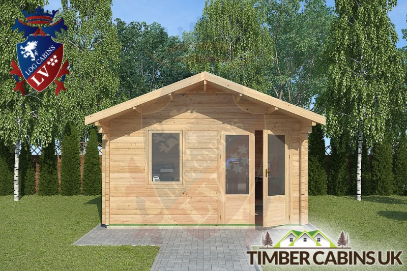 Log Cabin Newton-in Bowland 4m x 3m 001