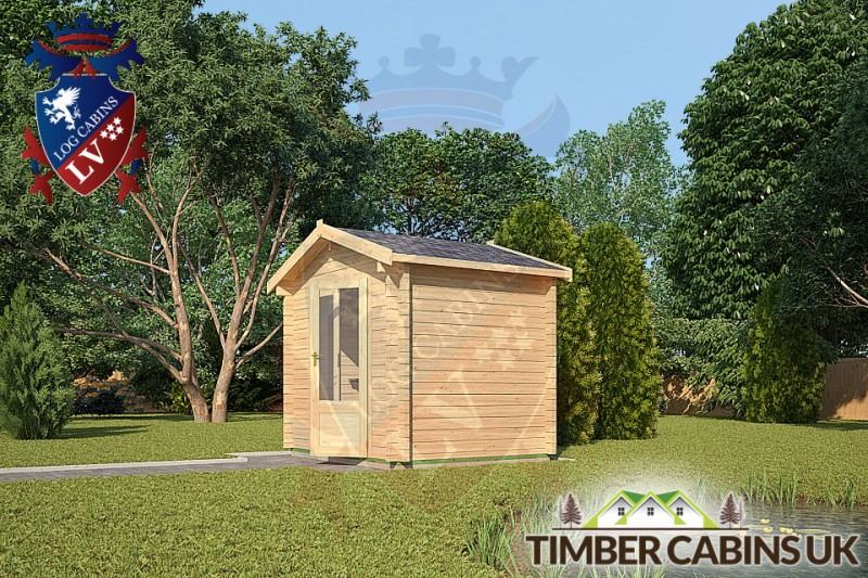 Log Cabin North Lincolnshire 2.6m x 2m 001