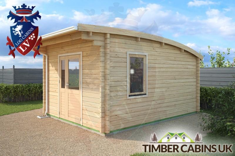Log Cabin Northampton 3.5m x 4.5m 001