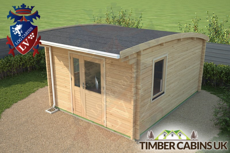 Log Cabin Northampton 3.5m x 4.5m 001