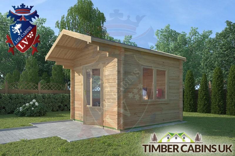 Log Cabin Oldham 3m x 3m 001