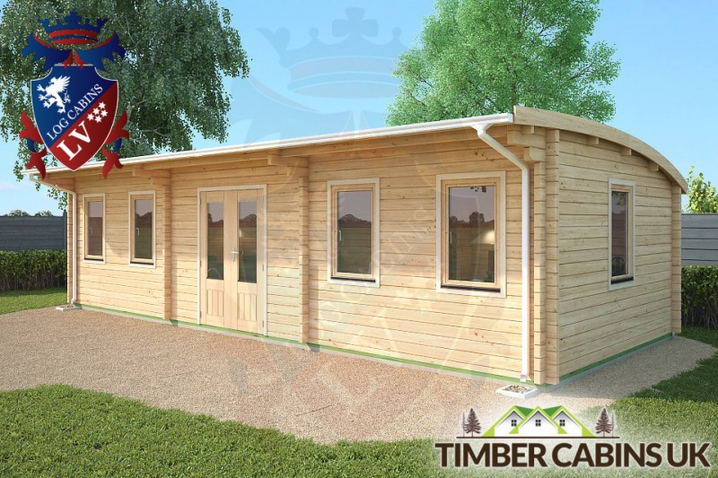 Log Cabin Oldham 9.5m x 4m 001
