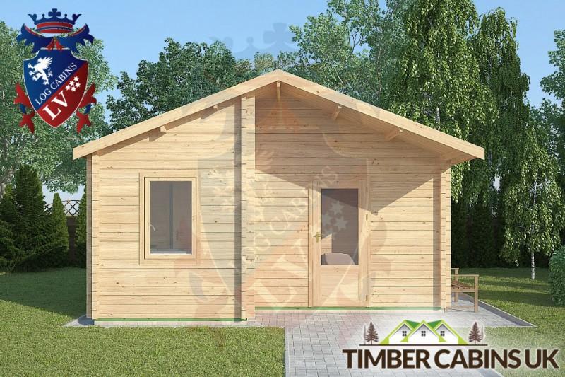 Log Cabin Ormskirk 5m x 4m 001