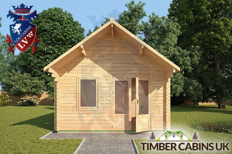 Log Cabin Peterborough 4.5m x 6m 001