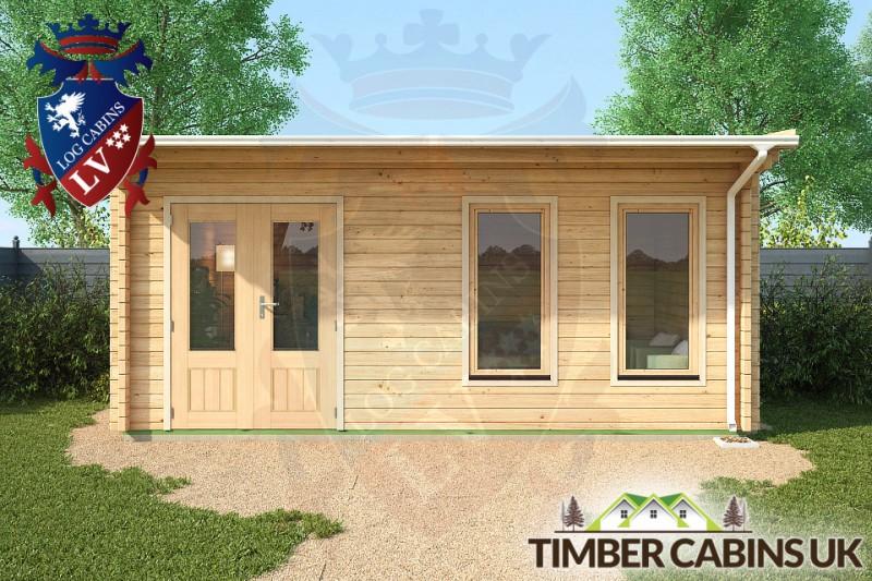 Log Cabin Plymouth 5.5m x 3.5m 001