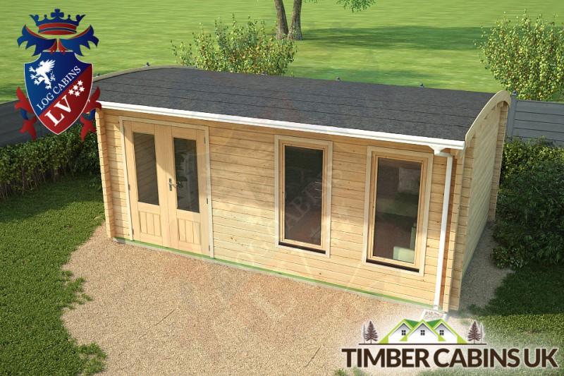 Log Cabin Plymouth 5.5m x 3.5m 001