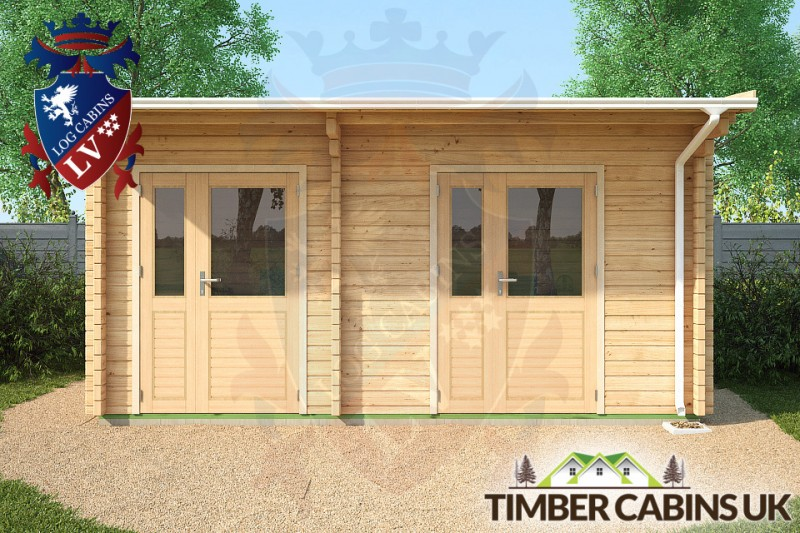 Log Cabin Portsmouth 5m x 3m 001
