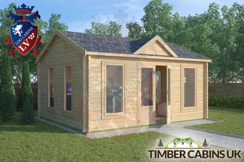 Log Cabin Poulton_le_Fylde 5m x 4m 001