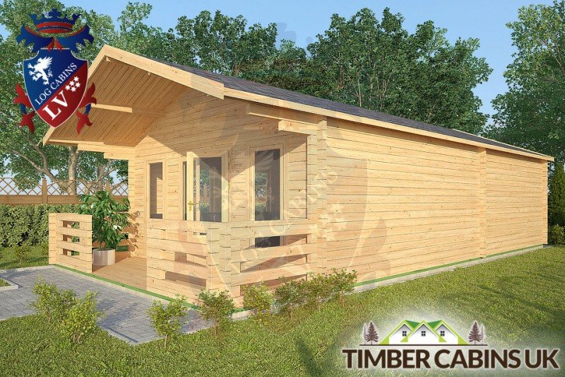 Log Cabin Quernmore 5m x 9m 001