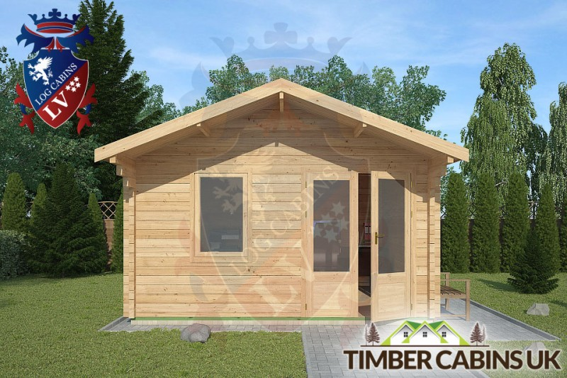 Log Cabin Ribchester 4m x 4m 001