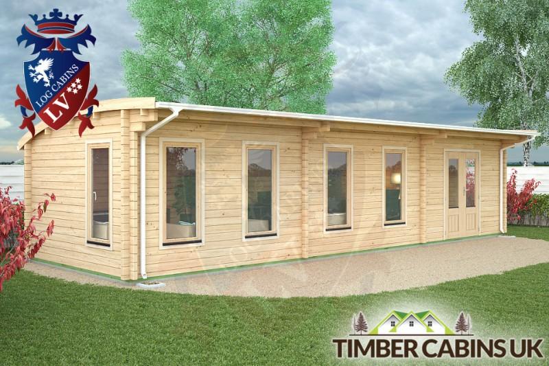 Log Cabin Rochdale 10.5m x 3.5m 001