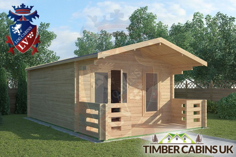Log Cabin Rochdale 4m x 5m 001