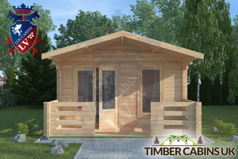 Log Cabin Rossendale 4m x 7m 001