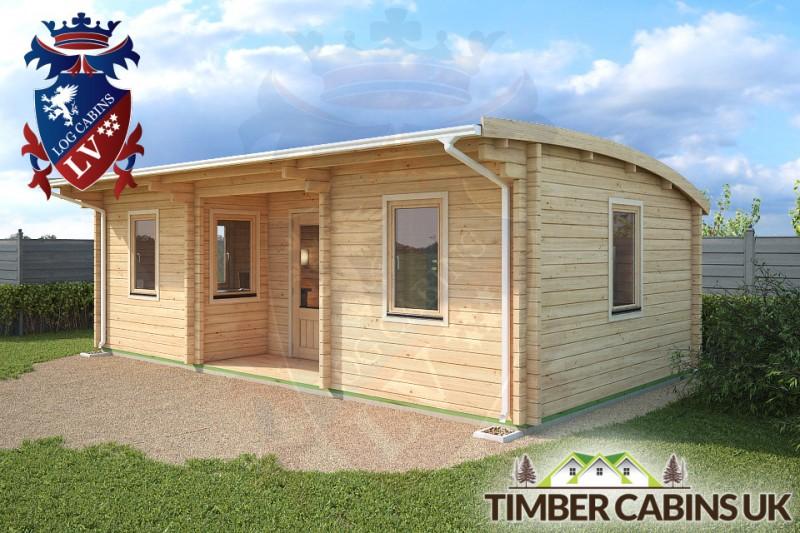 Log Cabin Rotherham 7.5m x 4m 001