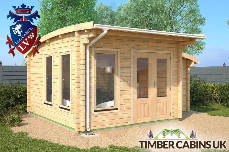 Log Cabin Sandwell 5m x 4m 001