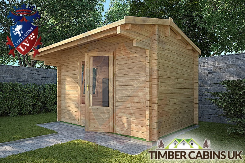 Log Cabin Scarborough 3.55m x 2.35m 001