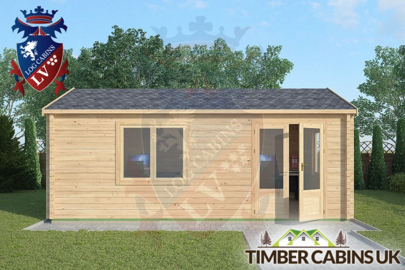 Log Cabin Scarisbrick 6m x 4m 001