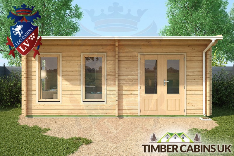 Log Cabin Sefton 6m x 3.5m 001