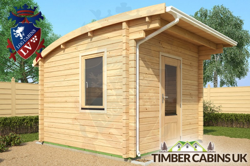 Log Cabin Sheffield 3m x 3m 001