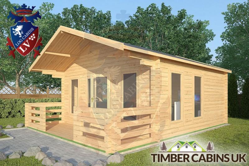 Log Cabin Silverdale 5m x 5m 001