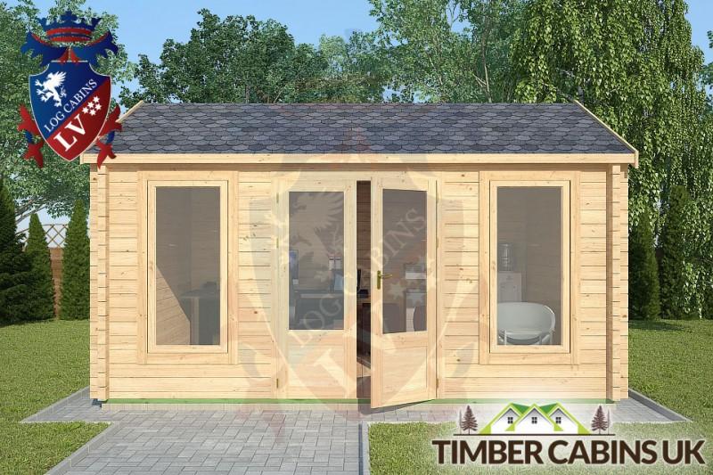 Log Cabin Slaidburn 4.5m x 3.5m 001