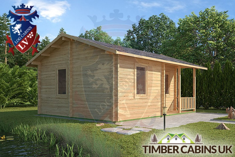 Log Cabin Slough 6m x 4.5m 001