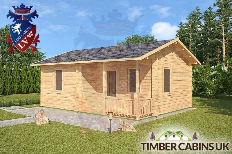 Log Cabin Slough 6m x 4.5m 001