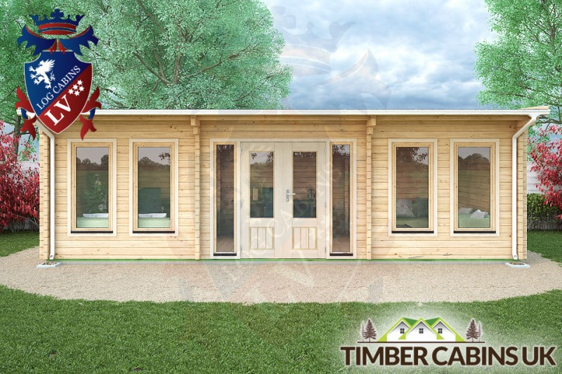Log Cabin South Gloucestershire 8m x 4m 001