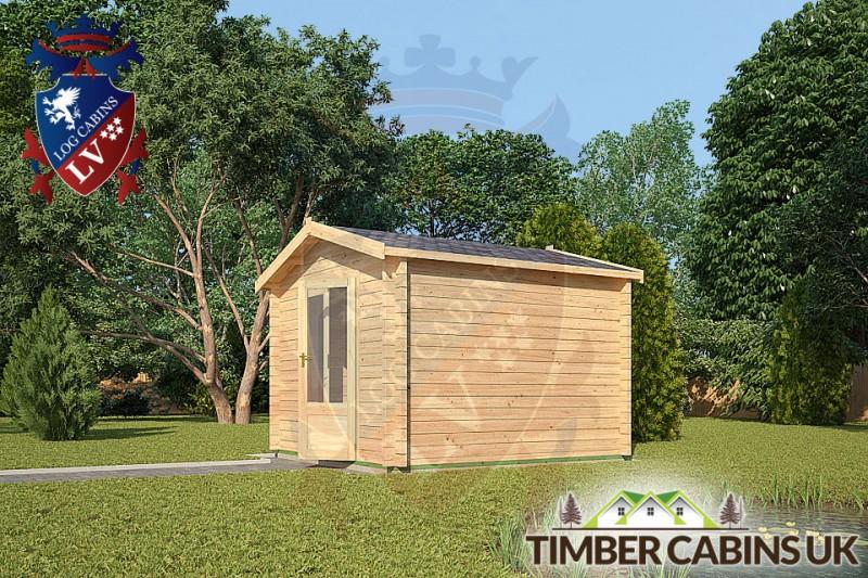 Log Cabin South Somerset 3m x 3m 001