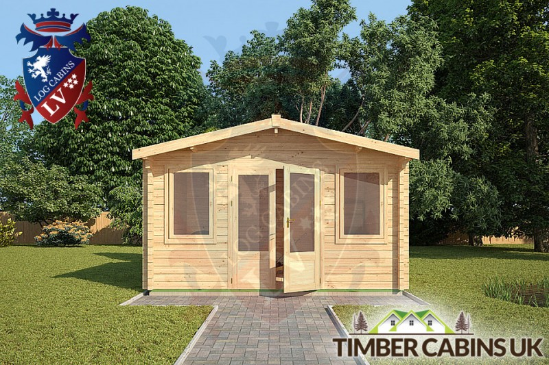 Log Cabin South Tyneside 4m x 3m 001