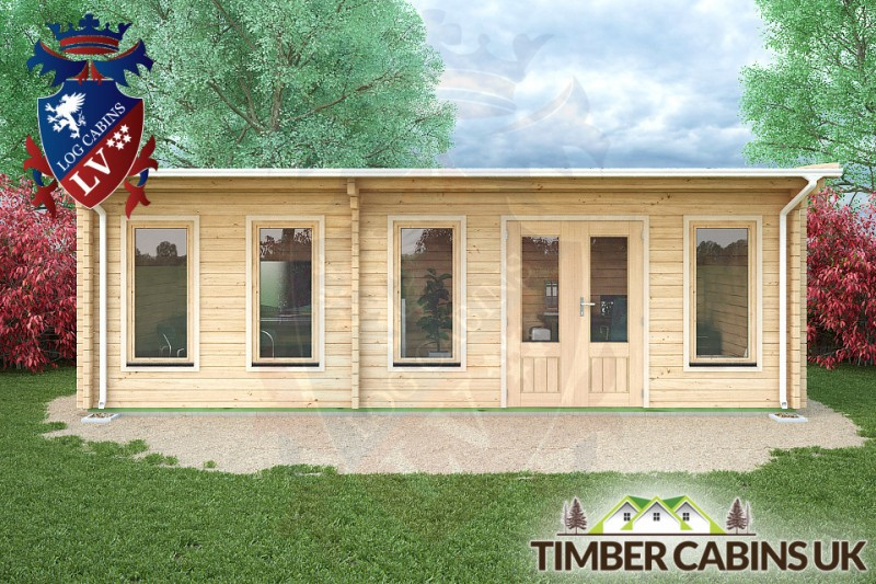 Log Cabin Stoke-on-Trent 7.5m x 3.5m 001