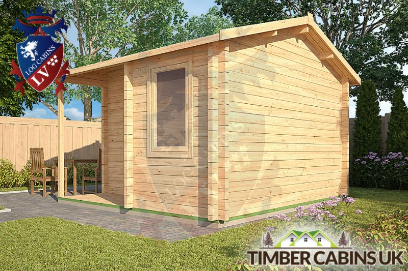 Log Cabin Stratford-on-Avon 3.6m x 3.6m 001