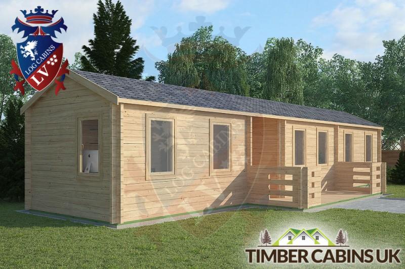 Log Cabin The Lancashire 13m x 3m 001