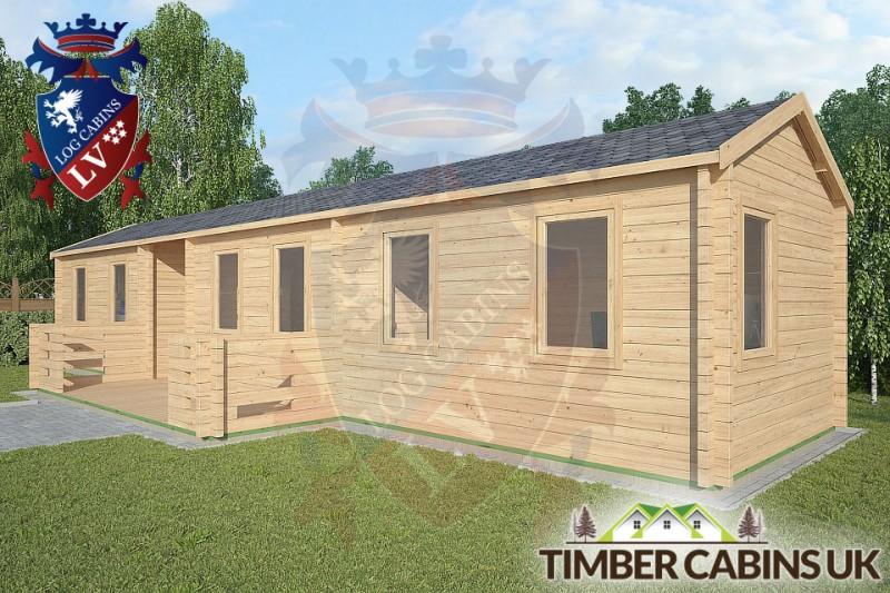 Log Cabin The Lancashire 13m x 3m 001