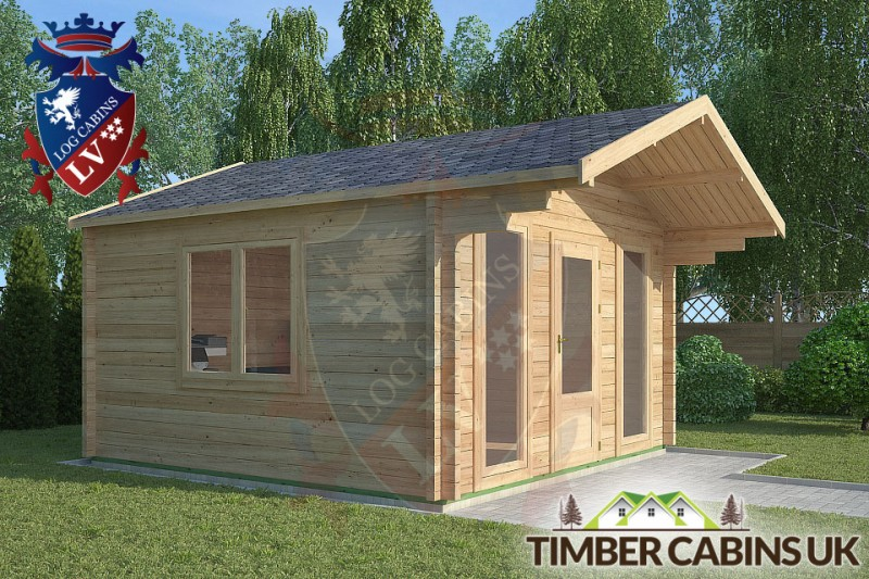 Log Cabin Thornton-Cleveleys 4m x 4m 001