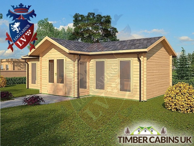 Log Cabin Thornton 8.5m x 4.5m 001