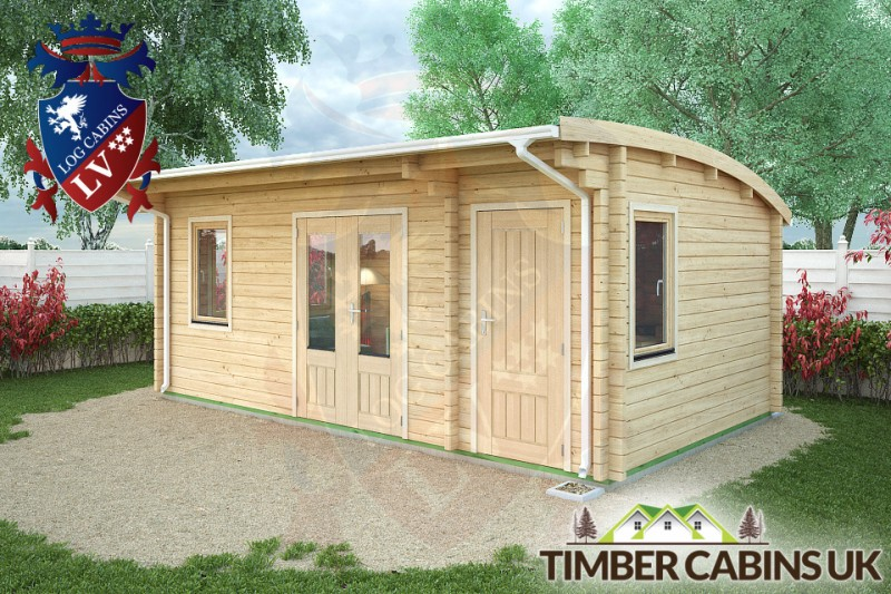 Log Cabin Walsall 6m x 3.5m 001