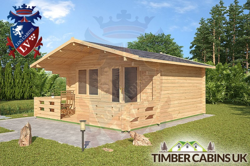 Log Cabin West Lancashire 4.5m x 3.6m 001