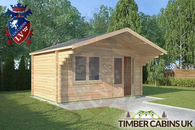 Log Cabin Worston 4.5m x 3m 001