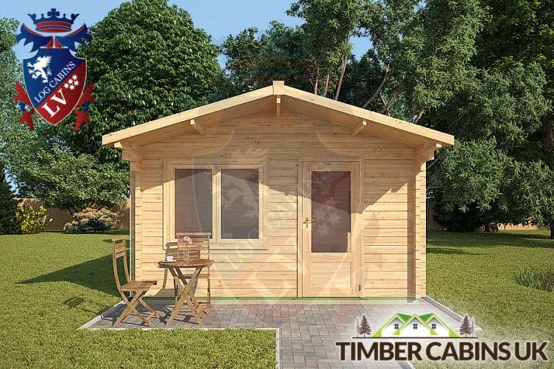 Log Cabin Wycombe 4m x 5m 001