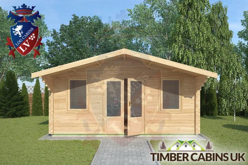 Log Cabin Dalton 5m x 4m 001